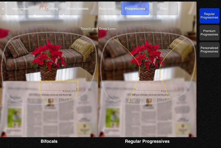 bifocal vs basic progressive